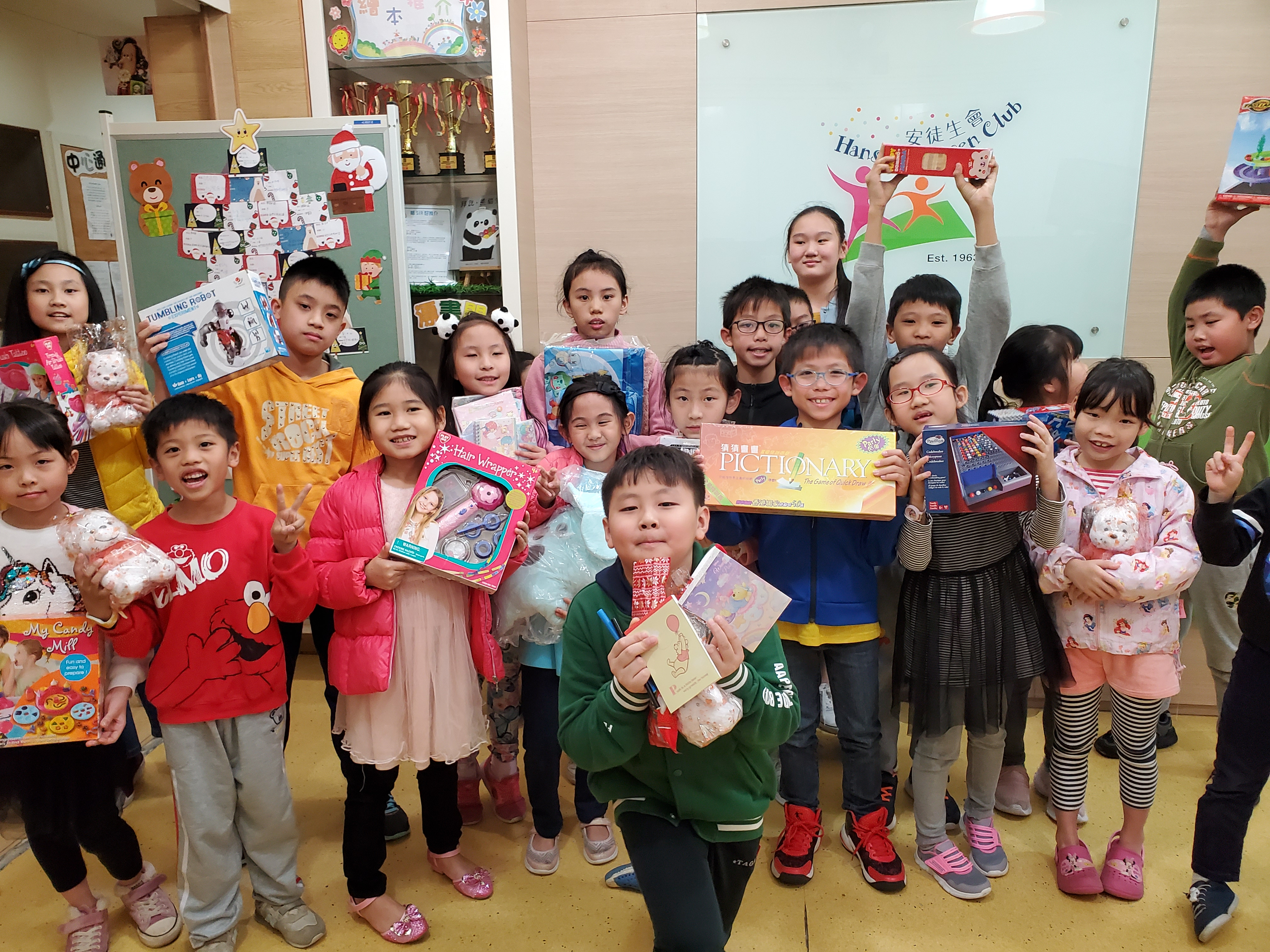 Christmas Gift Matching Donation Campaign in collaboration with tenants