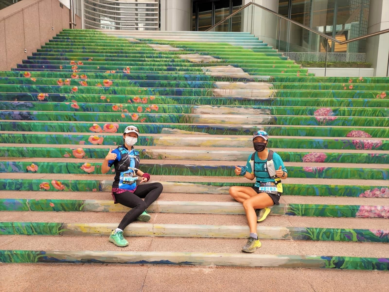 Three Garden Road supported a virtual running campaign as venue sponsor to promote healthy lifestyle