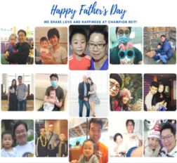 Has anyone ever told that you look like your father? We run the father-child look-alike photo contest at our office for Father's Day celebration. We were delighted to see that our colleagues enjoyed sharing their father-child sweet moments. Three winners were chosen by voting and honoured with thoughtful gifts that could be shared with their families. We support employees not only by embracing workplace diversity, but also by creating family-friendly environment, which could help boost employees' morale. Happy Father's Day!